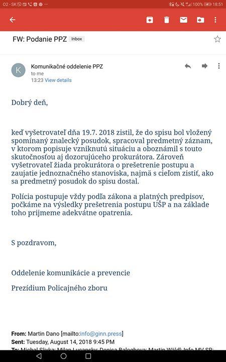 Datovania UPS