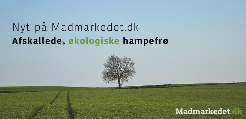 Nyt på Madmarkedet.dk - hampefrø