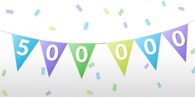 500 000 wystawionych wniosków urlopowych