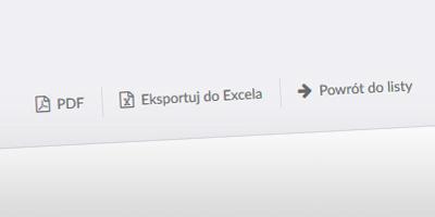 Dodaliśmy możliwość eksportu rozliczonej delegacji do Excela