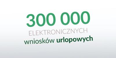 Nasz program do wystawiania wniosków urlopowych obsłużył już 300 000 urlopów!