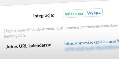 Integracja iCal kalendarz