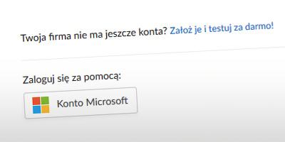 Logowanie za pomocą konta Microsoft