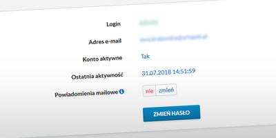 Wnioski urlopowe z powiadomieniami mailowymi lub bez