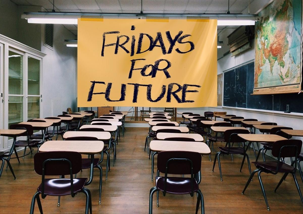 """""""Fridays for Future""""-Schulstreiks finden mittlerweile weltweit statt,"""