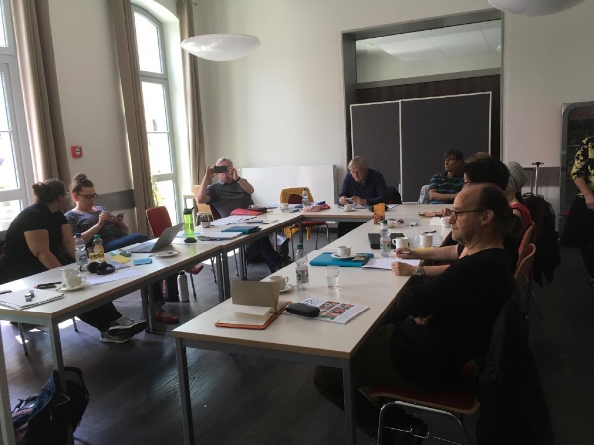 Die Jury bei der Arbeit, Foto: Ulrike Mönch-Heinz
