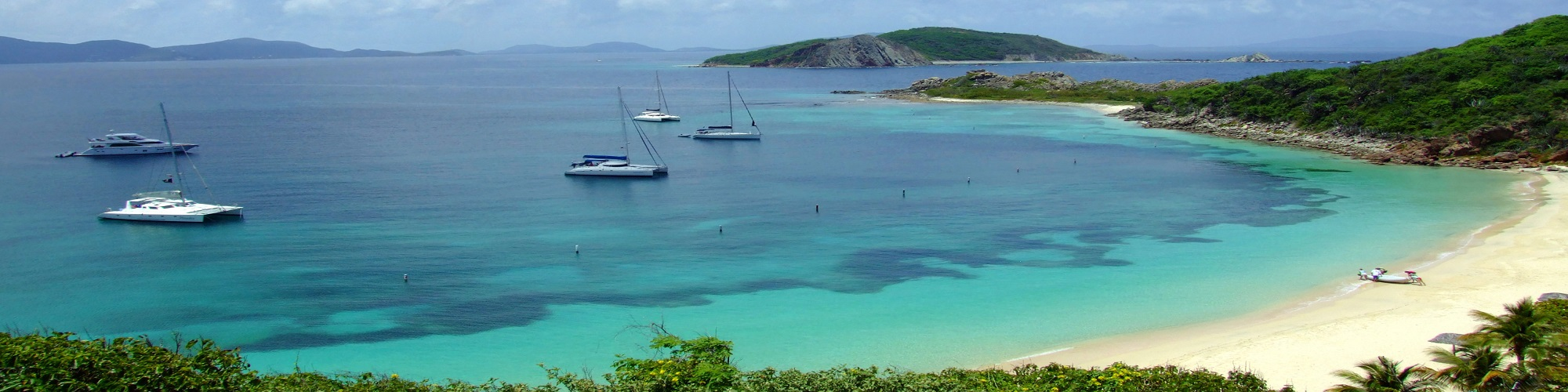 The British Virgin Islands-St Peter-panoramic view
