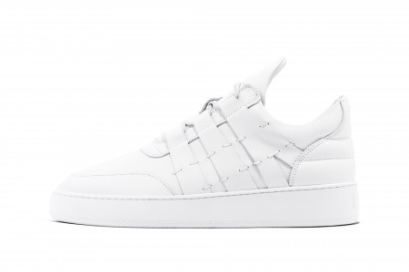 Low top foxtrot white