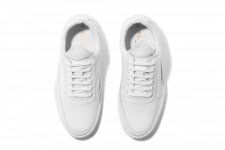 Low top fundament RIPPLE white
