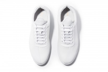 Low top two faced white