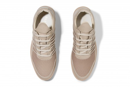Low top cane ghost beige