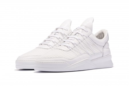 Low Top Cane Ghost White
