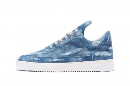 Low top denim blue
