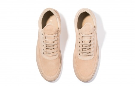 Low top thick ripple beige