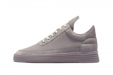 Low top perforated tone grey