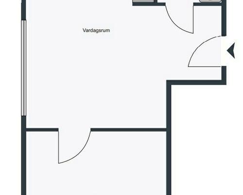 2 rums lägenhet i Vaxholm