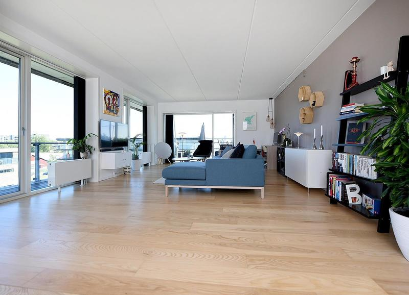 Penthouse på 95 m2