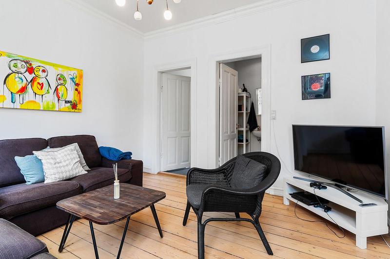 Lækker lejlighed med god beliggenhed i Odense C