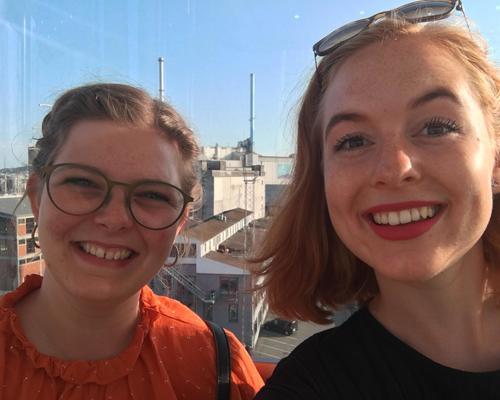 To veninder søger delelejlighed