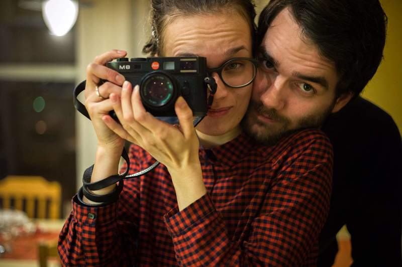 A young married couple is looking for an apartment in Copenhagen.