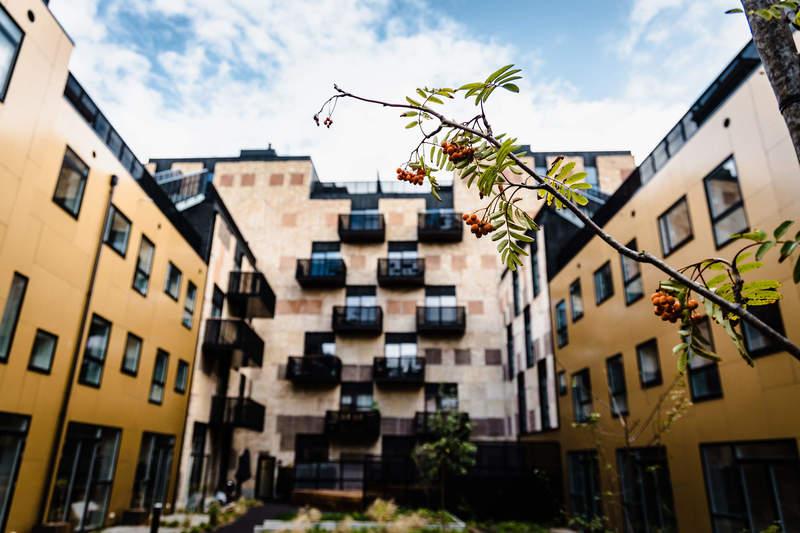 Ressourcerækkerne er et innovativt og bæredygtigt projekt i Ørestaden, som har vundet Estate Medias Projektpris 2019.