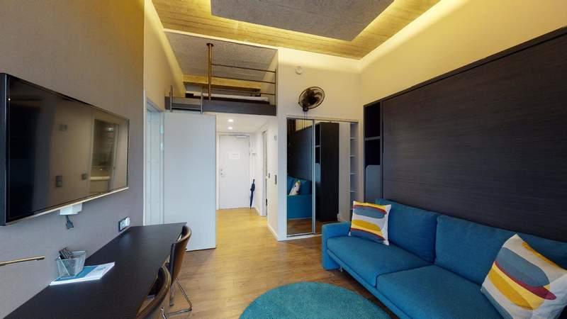 Vores Connecting Studio lejligheder, er det perfekte valg til familier. Her får du to Studio-lejligheder der er koblet sammen.