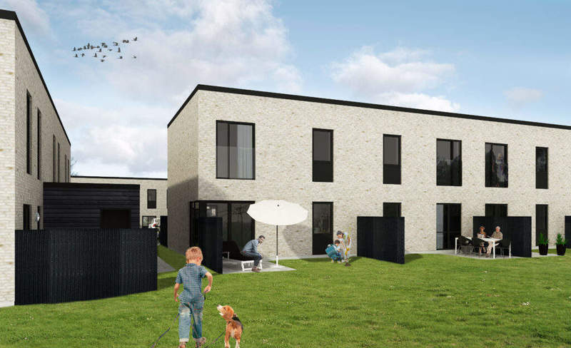 Nybygget rækkehus i Middelfart