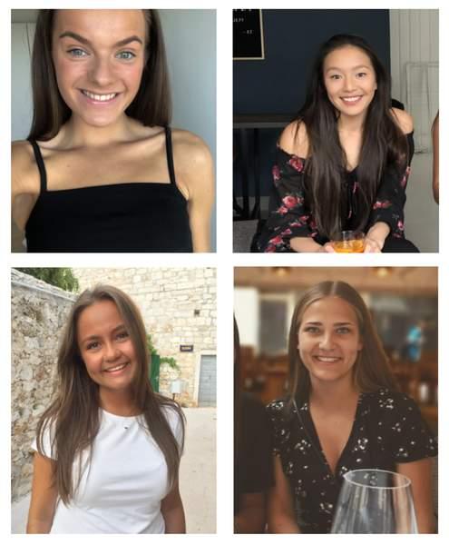 Fire norske jenter søker bolig