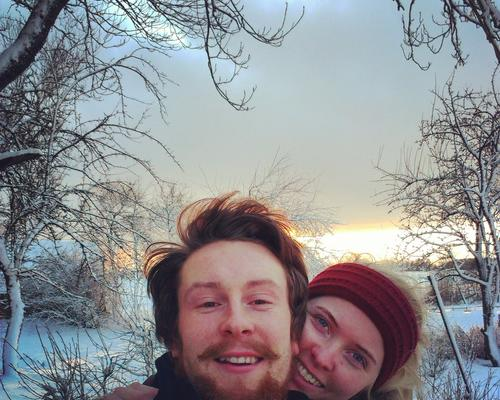 Couple looking for a roof over their heads
