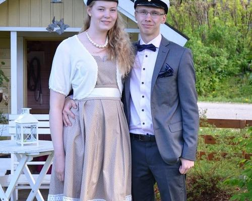 Tidy and well-behaved couple from Finland