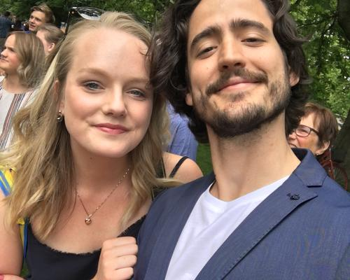 Couple looking for an apartment in Stockholm