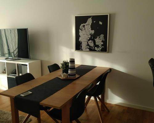 Cozy full furnished two room apartment.