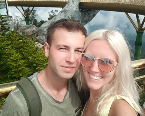 We are couple looking for an apartment or room.