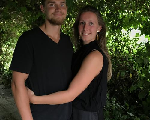 Couple looking for apartment in Aarhus