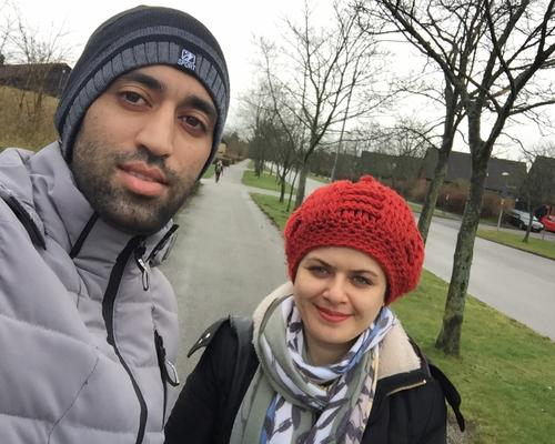 Couple looking for a room or apartment in lund or malmo