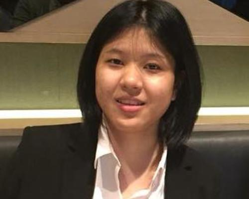 A 25 years old law student from Thailand .