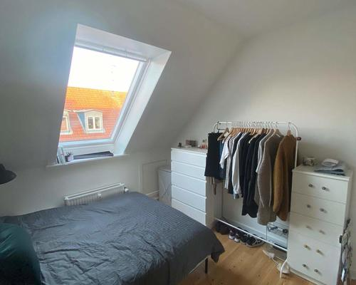 Room in Vesterbro in shared flat of two available for the summer