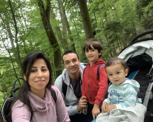 Family looking for an apartment in the Malmö area
