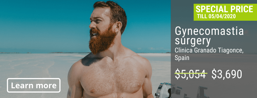 Gynecomastia surgery offer in Spain