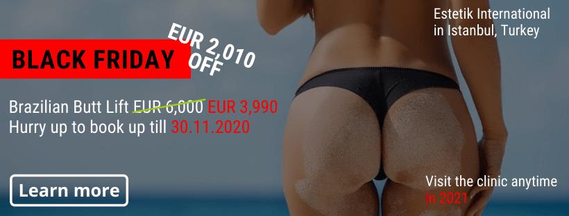 BBL Estetik Istanbul Black Friday offer