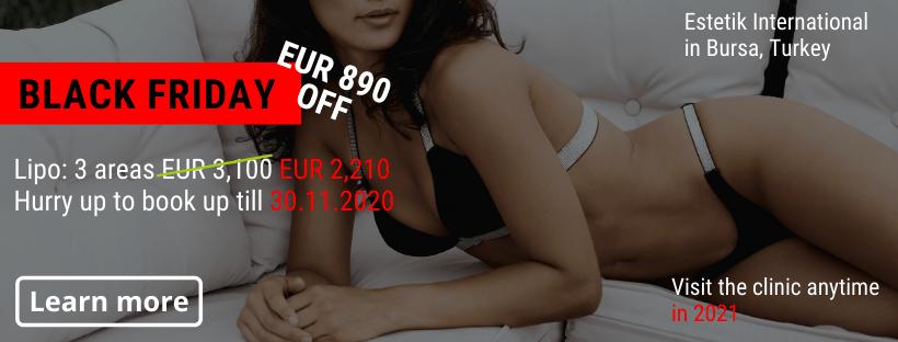 Liposuction Estetik Bursa Black Friday offer