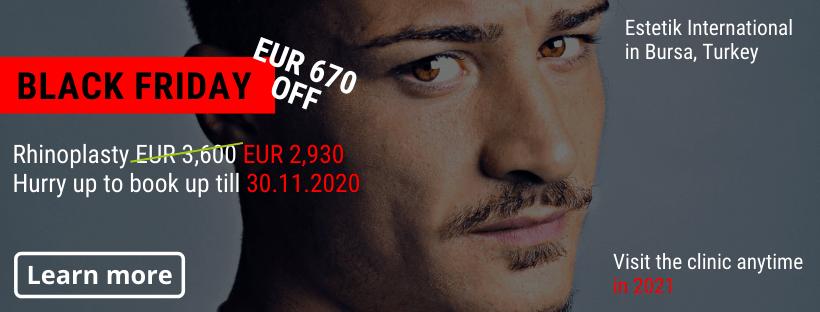 Nose job Estetik Bursa Black Friday offer