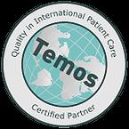 Сертификат качества медицинских услуг TEMOS