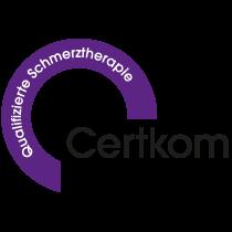 Сертификат CERTKOM за качество обезболивания
