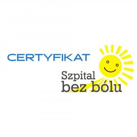 Hospital Without Pain Certificate by the Polish Society for the Study of Pain