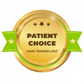 Patient choice for Hair transplant