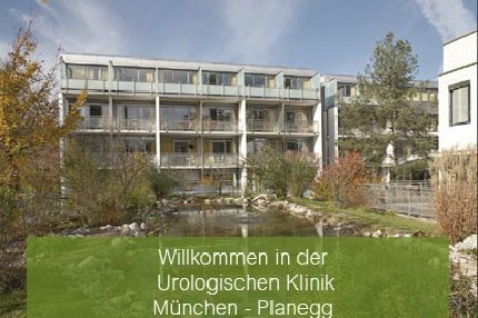Urology Hospital Munich-Planegg