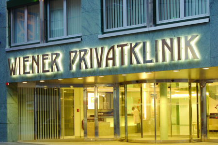 Check best prices for Ankylosing spondylitis treatment at Wiener Privatklinik