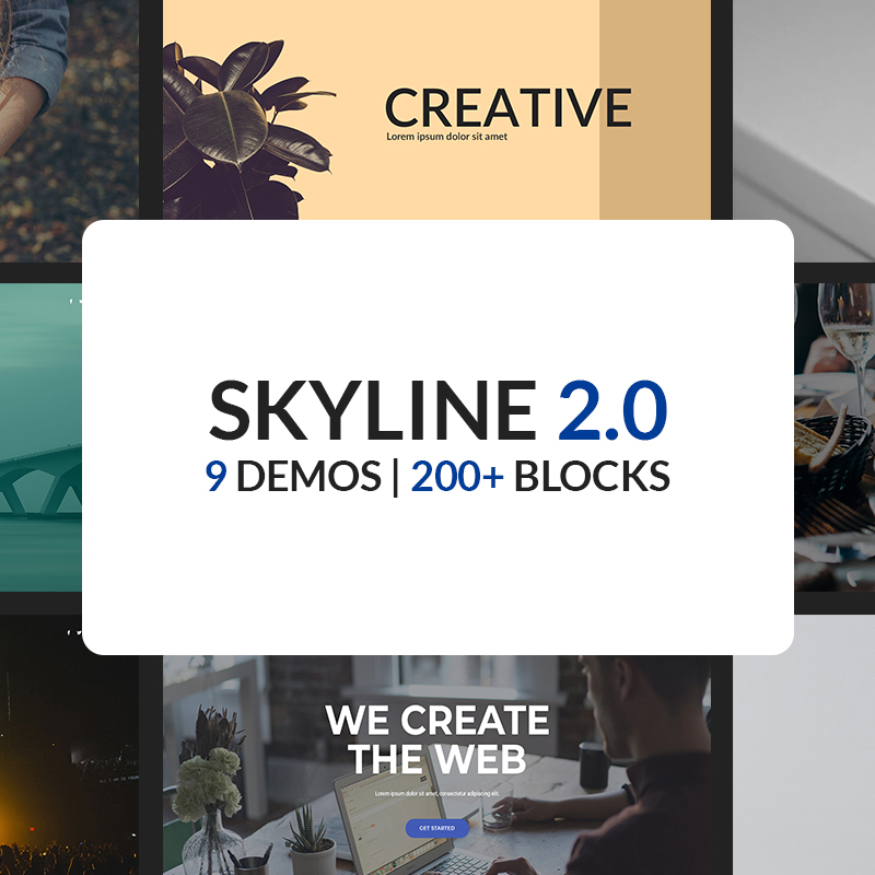 Skyline Website Template