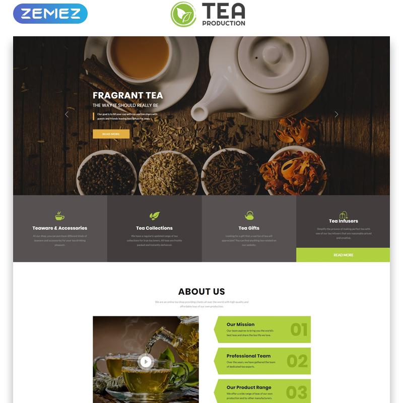 TEA Production HTML Template